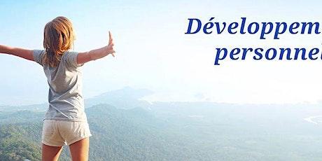 Planning événements développement personnel & professionnel billets