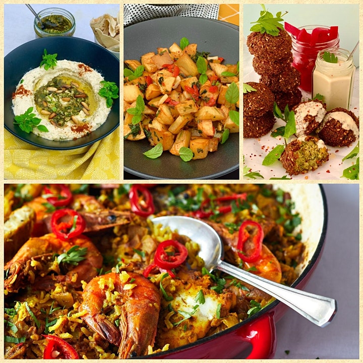 Middle East Meze Tapas: Cooking class with Lina Saad image