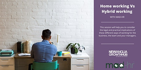 Home working vs Hybrid working with MAD-HR tickets