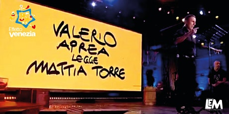 VALERIO APREA LEGGE GOLA E ALTRI PEZZI BREVI biglietti