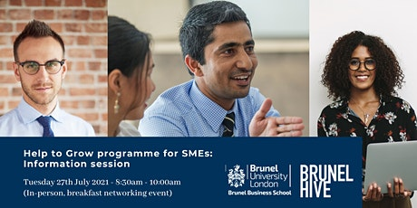 Brunel Business School programme for SMEs: Information session tickets