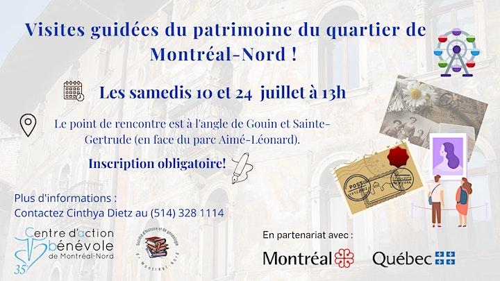 Image de Visites guidées du patrimoine du quartier de Montréal-Nord !