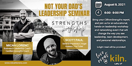 Not Your Dad's Leadership Seminar - Strengths Workshop tickets