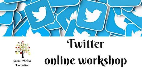 Online Twitter workshop for businesses tickets