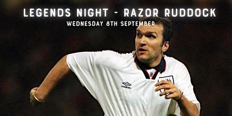 Legends Night - An Evening with  Razor Ruddock tickets