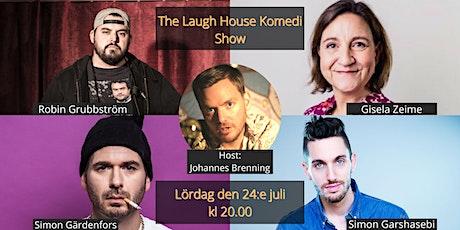 The Laugh House Ståupp Komedi 24:e juli biljetter
