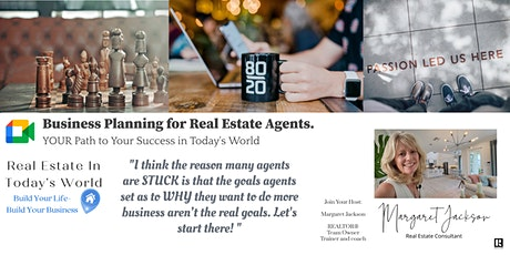 Two Hour: Real Estate Agent Business Planning Workshop ONLINE tickets