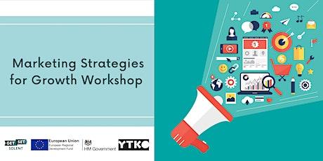 Marketing Strategies for Growth Workshop biljetter