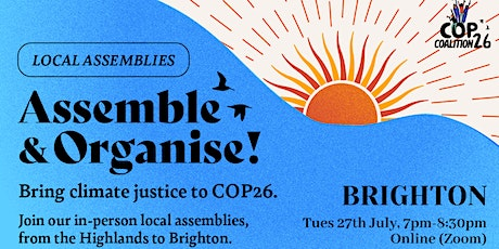 Assemble! Organise! Climate action on COP talks in UK. tickets