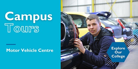 Campus Tours: Motor Vehicle Centre tickets