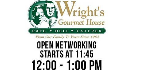 South Tampa Professsionals Networking Lunch Wrights Deli tickets