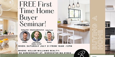 FREE First time Home Buyers Seminar! tickets