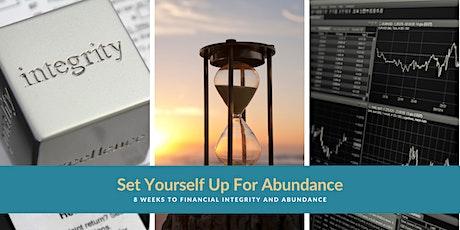 8 Weeks to Financial Integrity & Abundance - Audio Book Mastermind entradas