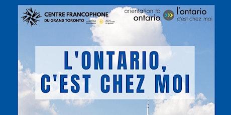 """Webinaire  """" L'Ontario C'est Chez Moi"""" billets"""