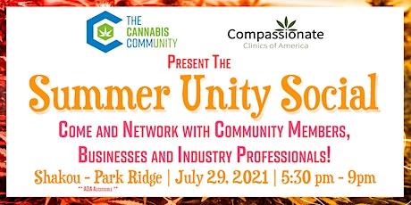 Cannabis Community Summer Unity Social tickets