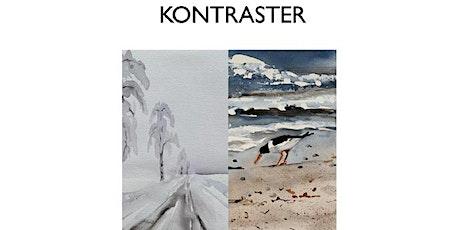 """Monica Olsen - """"Kontraster"""" - Akvarellutställning på Galleri Upsala biljetter"""