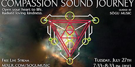Compassion Sound Journey tickets