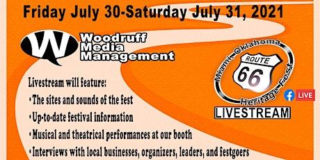 The Miami Oklahoma Route 66 Hertiage Fest Livestream tickets
