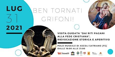 Bentornati Grifoni! Visita guidata, rievocazione storica e aperitivo biglietti