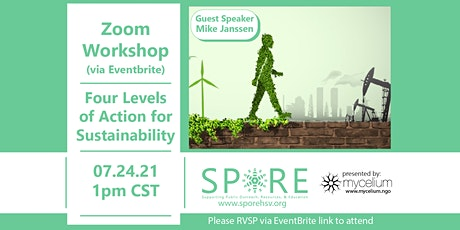 Four Levels of Action for Sustainability with Guest Speaker Mike Janssen tickets