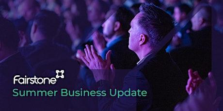 Manchester Summer Business Update tickets