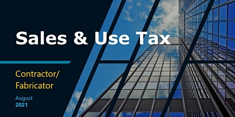 Sales & Use Tax: Contractor/Fabricator tickets