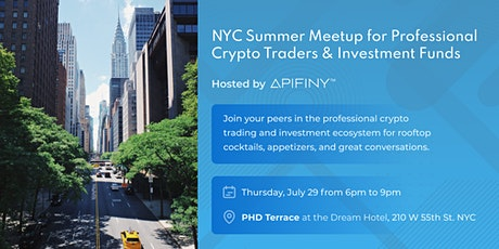 NYC  Professional Crypto Trader  and  Investment Fund Meetup & Happy Hour tickets