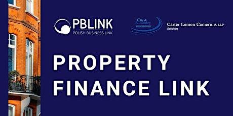 Property Finance Link London 16.09.2021 tickets