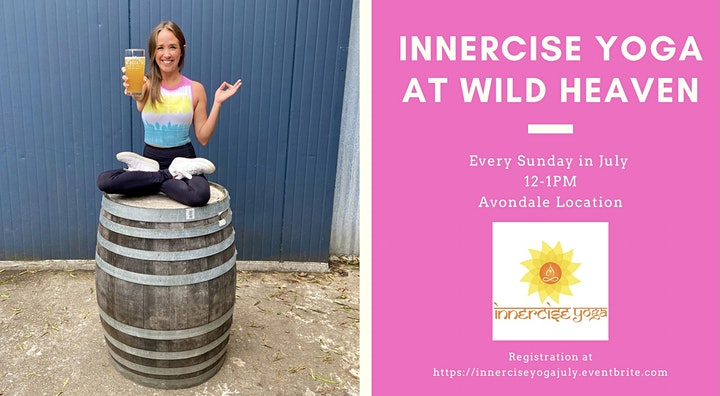 Innercise Yoga at Wild Heaven - July image