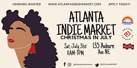 Atlanta Indie Market : Christmas in July tickets