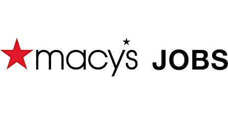 Macy's Hiring Event tickets