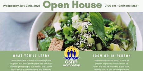 Natural Nutrition Info Session & Water Pertaining to Health Presentation tickets