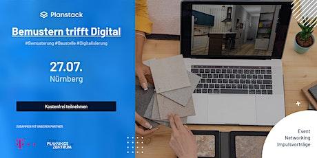 Planstack Event Nürnberg- Bemustern trifft digital Tickets