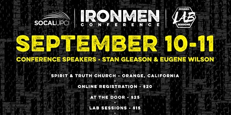 SoCal Iron Men Conference 2021 tickets