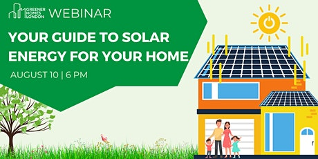 Your Guide to Solar Energy For Your Home tickets