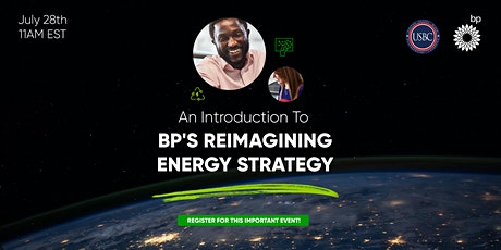 Introduction To BP's Reimagining Energy Strategy tickets