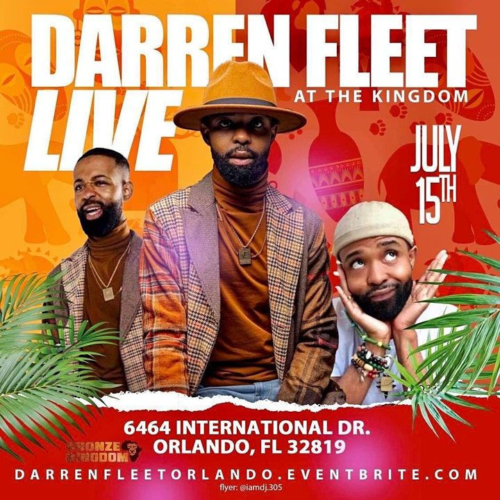 Darren Fleet at the Bronze Kingdom Orlando image
