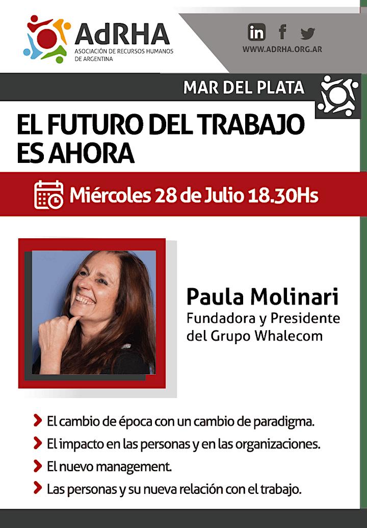 Imagen de El futuro del trabajo es ahora  - ADRHA Mar del Plata
