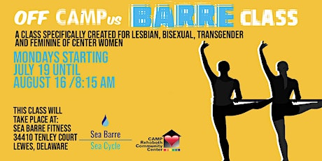 CAMP Rehoboth OFF-CAMPus Program - Barre Class from Women. tickets