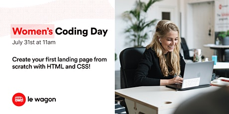 Women's Coding Day - Learn to code for free tickets