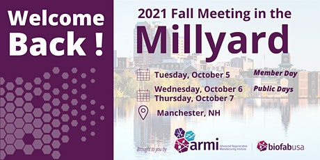 2021 Fall Meeting in the Millyard tickets