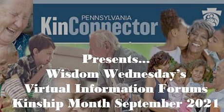 KINSHIP MONTH-Virtual Information Forum-School and Childcare tickets