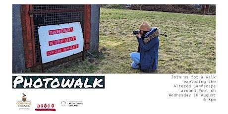 Altered Landscape - Photowalk tickets