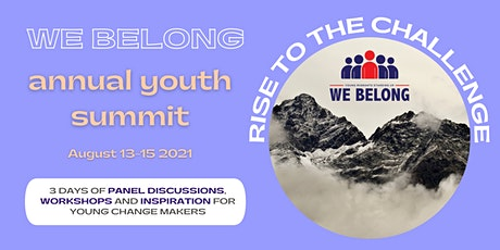 We Belong Annual Youth Summit! tickets