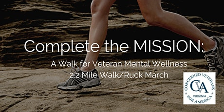 Complete the MISSION: A Walk for Veteran Mental Wellness tickets