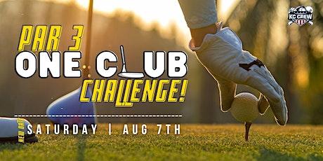 Par 3 One-Club Challenge tickets
