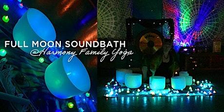 Full Moon Sound Bath Meditation tickets