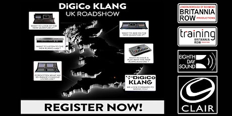 DiGiCo and KLANG Roadshow AM or PM Session tickets