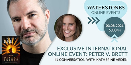 Exclusive international event: Peter V Brett, with Katherine Arden entradas