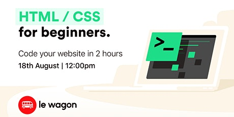 [ONLINE WORKSHOP] The 2-hour Landing Page tickets